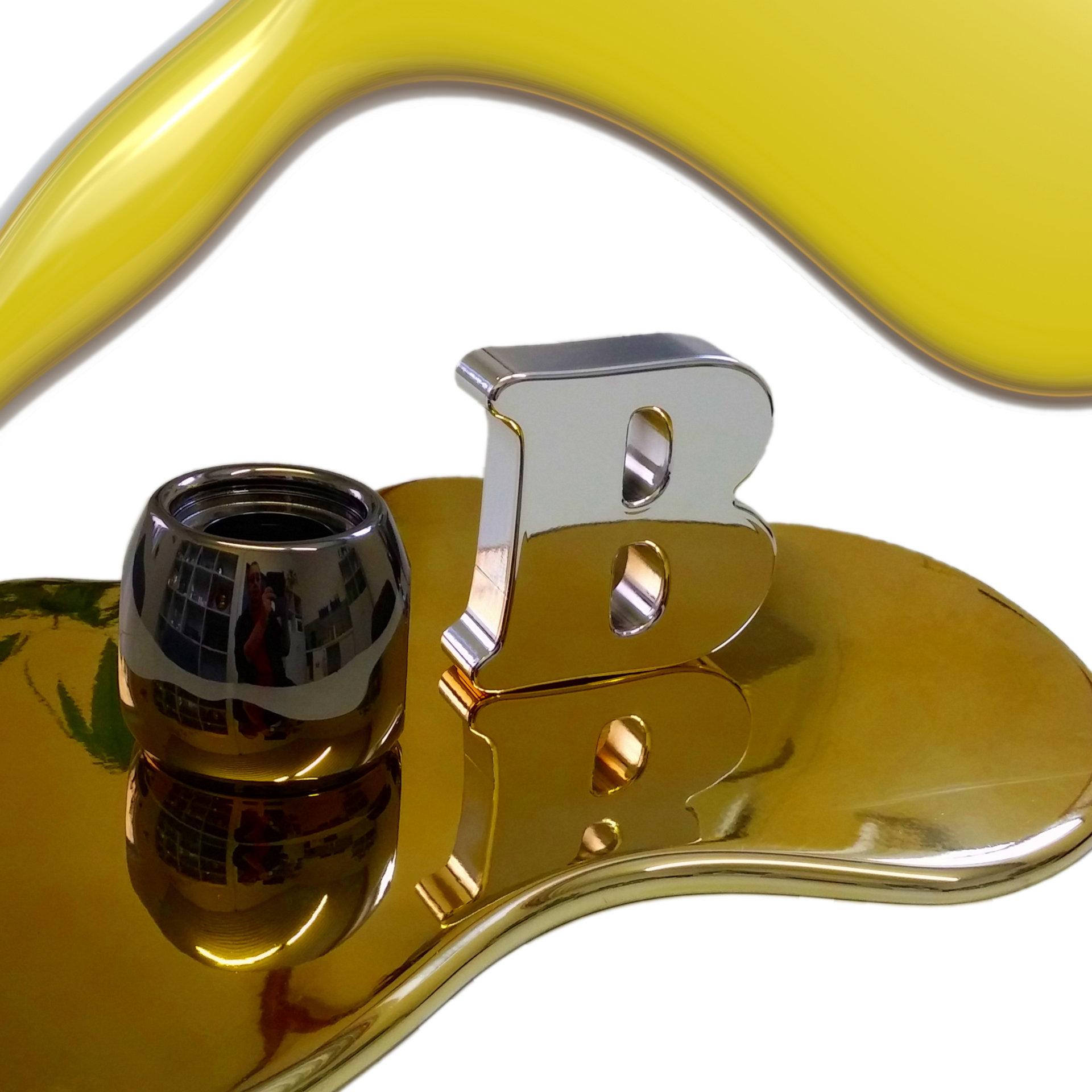 Werbeartikel Chrom-/Schwarzchrom-/Goldoptik